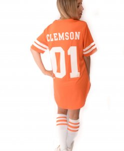 separation shoes 4a7ce 4a398 Clemson Tigers Football Jersey Dress